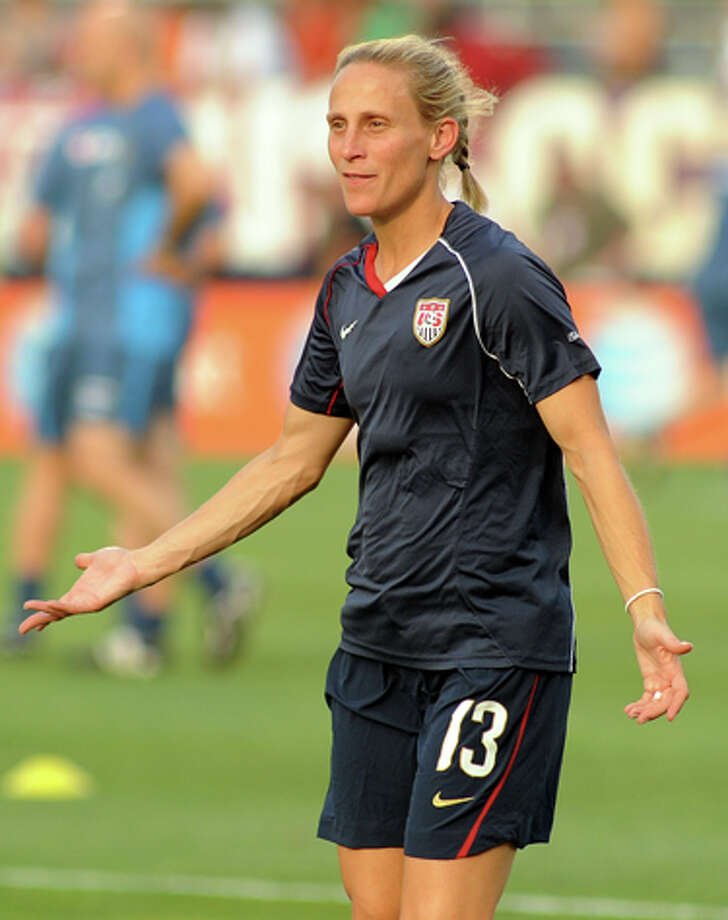 Kristine Lilly's coming home again to play soccer