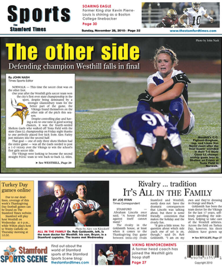 This week in The Stamford Times (Nov. 28, 2010 edition)