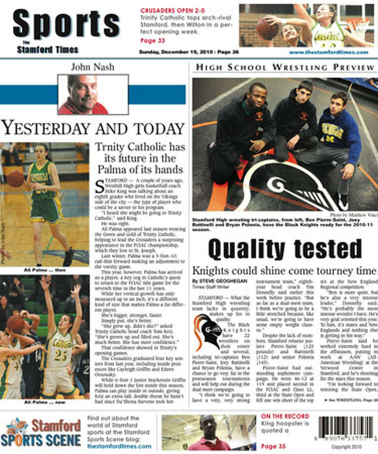 This week in The Stamford Times (Dec. 19, 2010 edition)