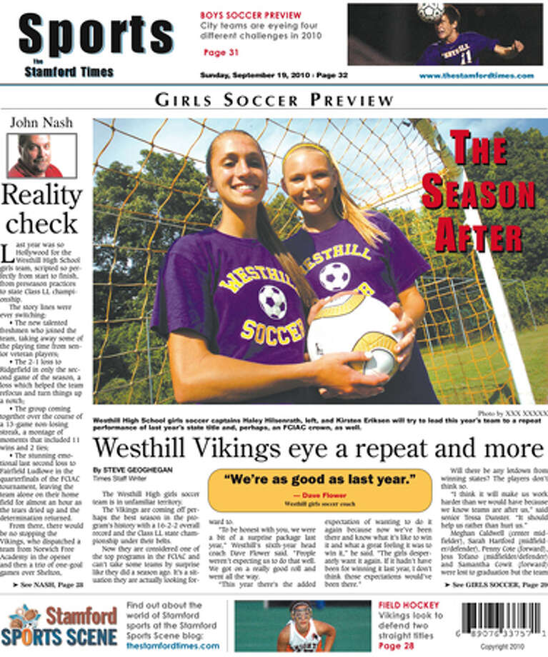 This week in The Stamford Times (Sept. 19, 2010 edition)