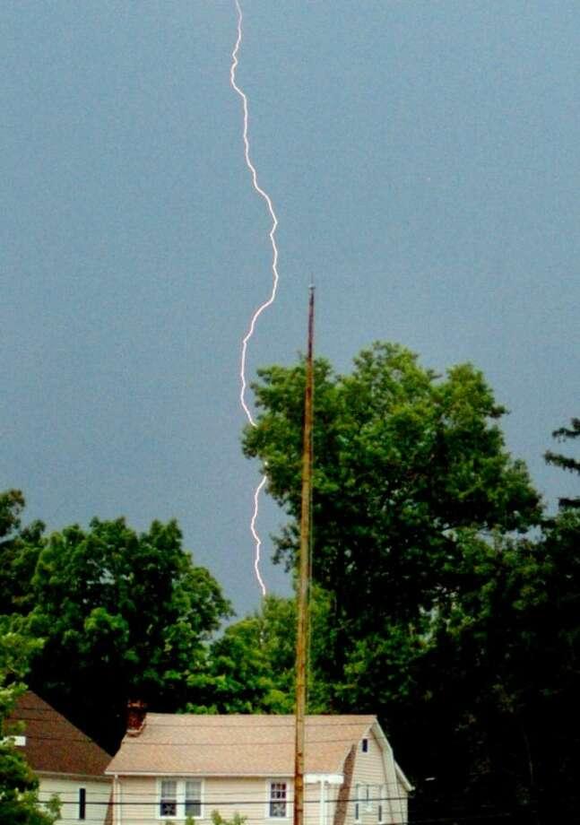 Lightning Storm Over Norwalk