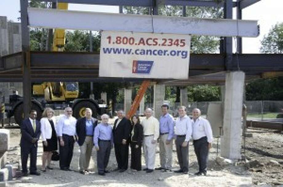 American Cancer Society Topping Off Ceremony at New Regional Center