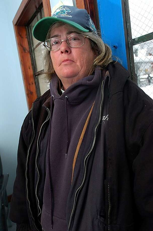 Cathy is homeless. She is staying at the Norwalk Emergency Shelter. Hour photo / Erik Trautmann