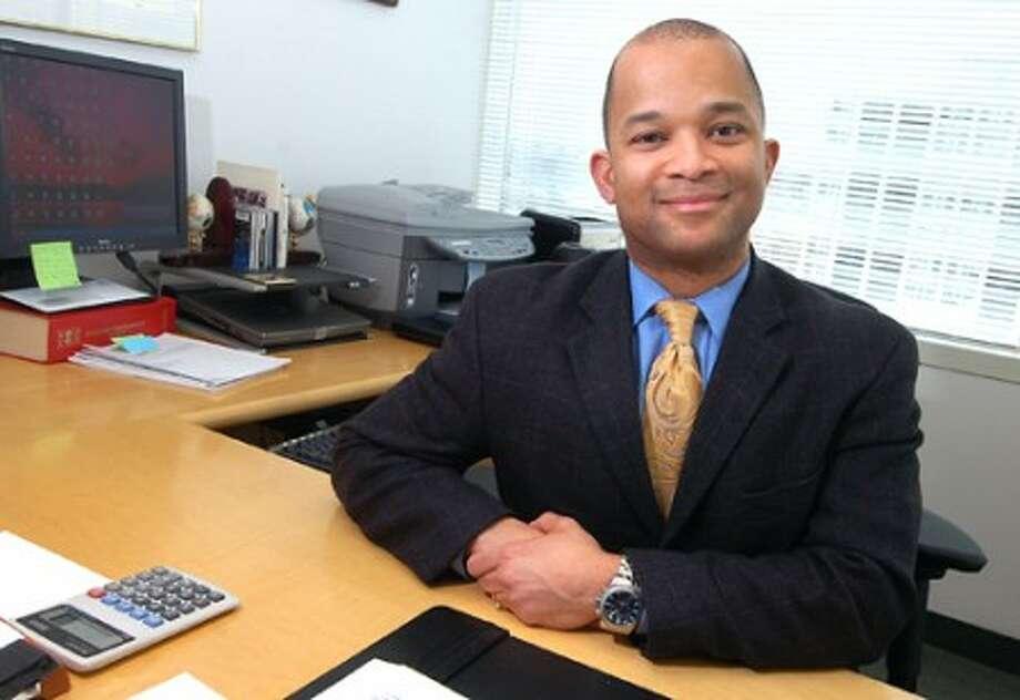 Photo/Alex von Kleydorff. City of Stamford''s Director of health and Social Services Johhnie Lee. MD, MPH, FACP.
