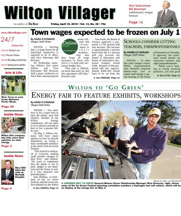 Introducing the new look of the Wilton Villager
