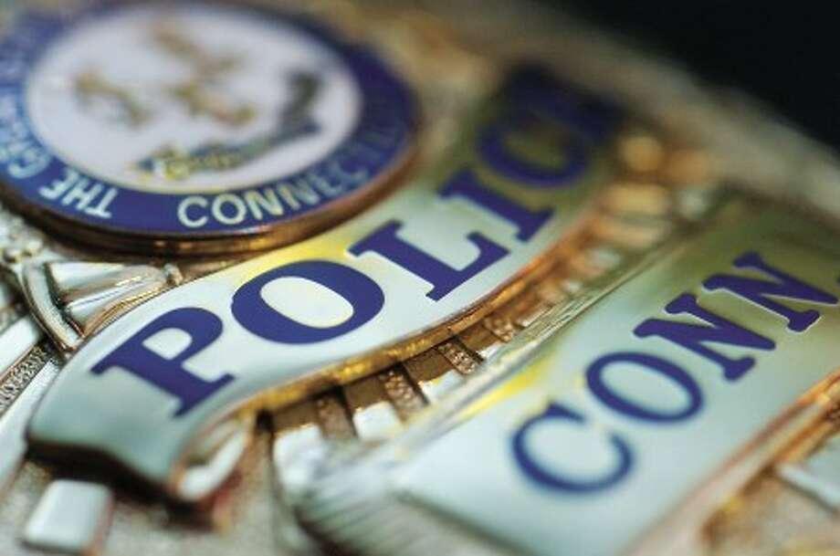 Photo/Alex von kleydorff. Police badge