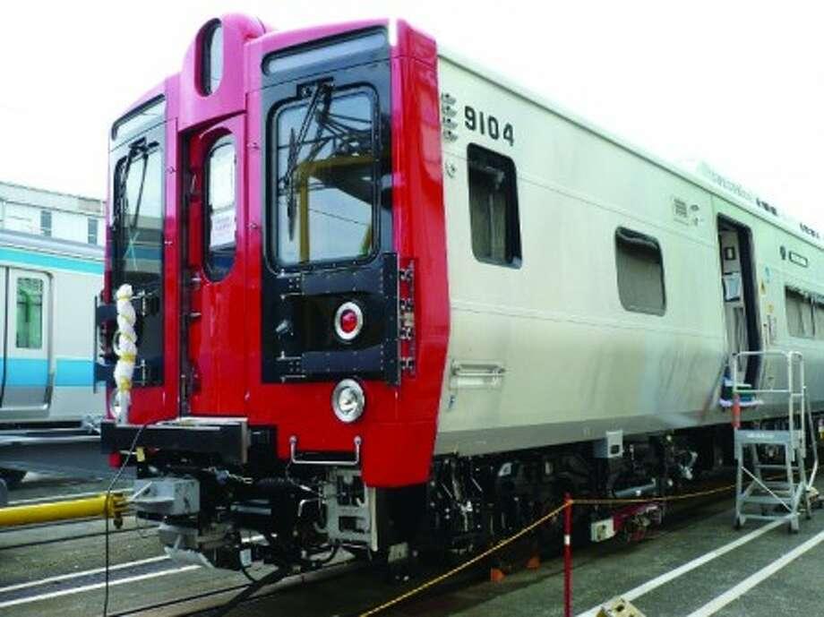 New rail cars go for a test run