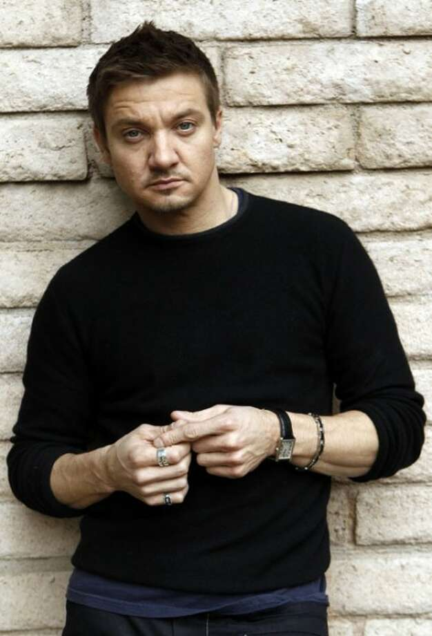 Actor Jeremy Renner poses for a portrait in Los Angeles on Wednesday, Feb. 24, 2010. (AP Photo/Matt Sayles)
