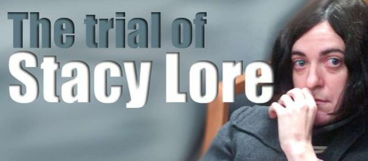 Photo/Alex von Kleydorff. Stacy Lore is arriagned in Norwalk Superior Court.