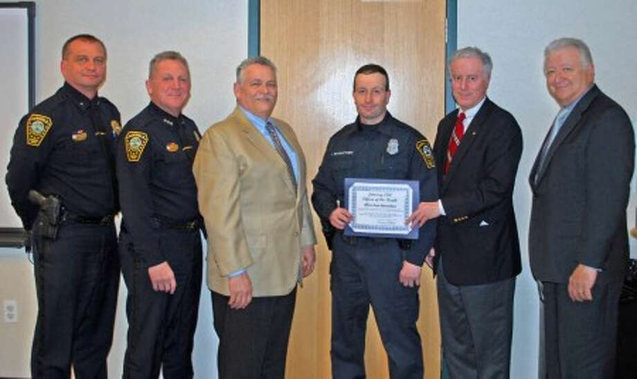 Officer honored for rescuing woman in fire