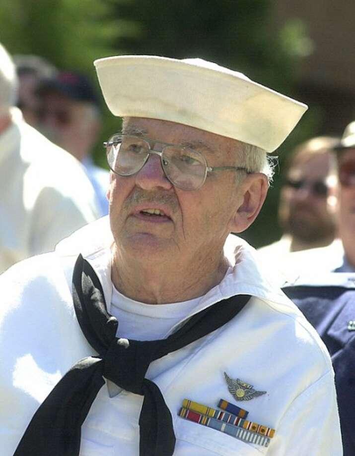 Photo/Alex von Kleydorff. 2005 File photo of Wilton''s Don Klotz in the Memorial Day parade