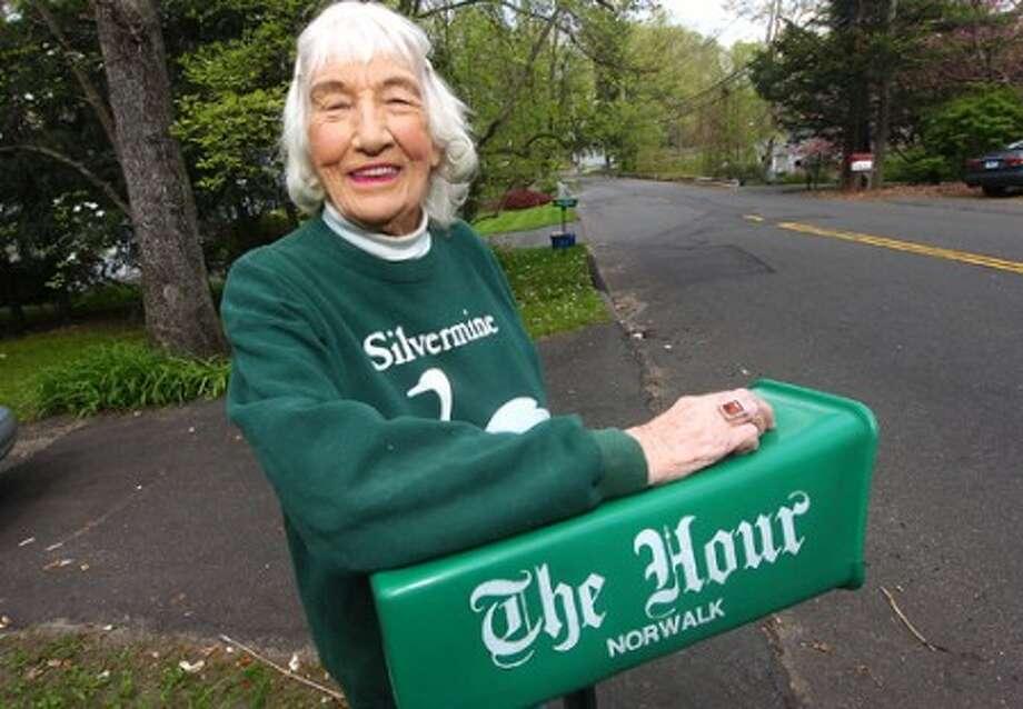 Photo/Alex von Kleydorff. Norwalk''s Anne Fanning Loyal reader of The Hour.