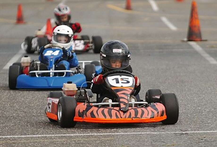 Children take the wheel at Kid Karts competition - The Hour