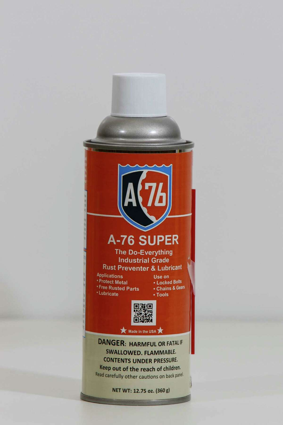A-76 Technologies aerosol. (For the Chronicle/Gary Fountain, May 20, 2016)