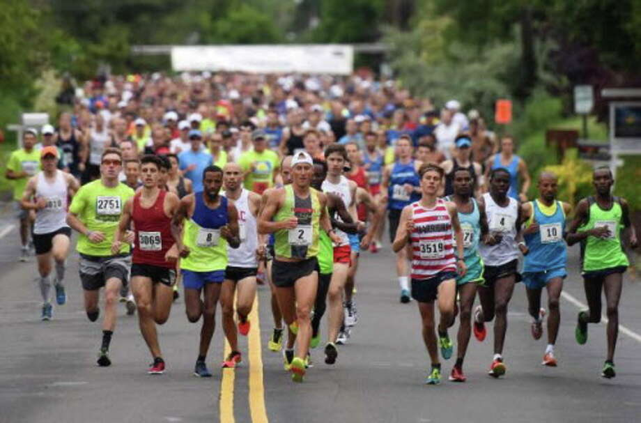 The annual Fairfield Half Marathon will take place on June 26 at Jennings Beach in Fairfield. Photo: Tyler Sizemore / Tyler Sizemore / Fairfield Citizen