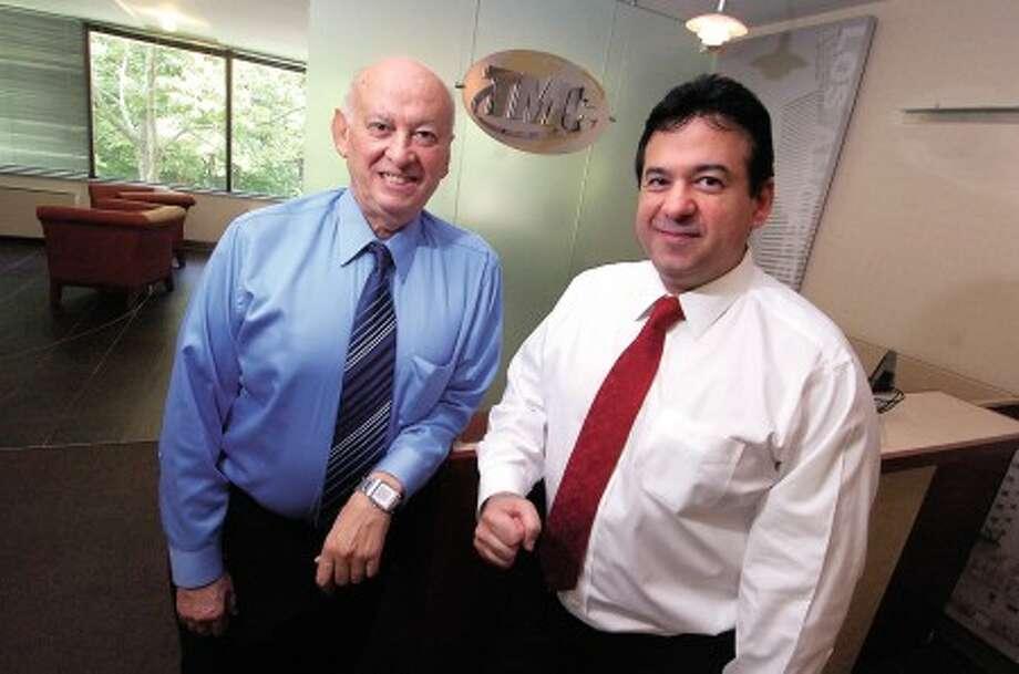 Photo/Alex von Kleydorff. L-R TMC Chairman and Founder Nadji Tehrani and CEO Rich Tehrani.