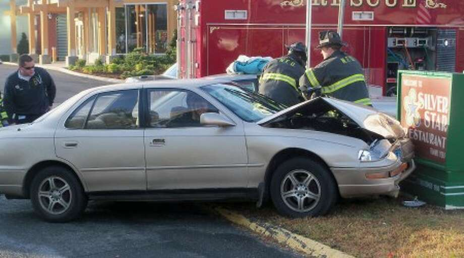 Wednesday morning accident sends one to hospital