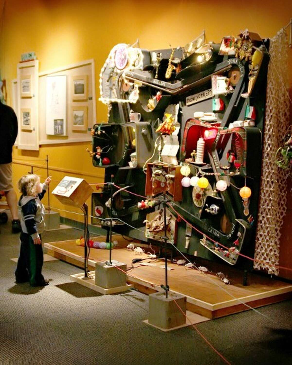 Stamford Museum whirls to life with kinetic art