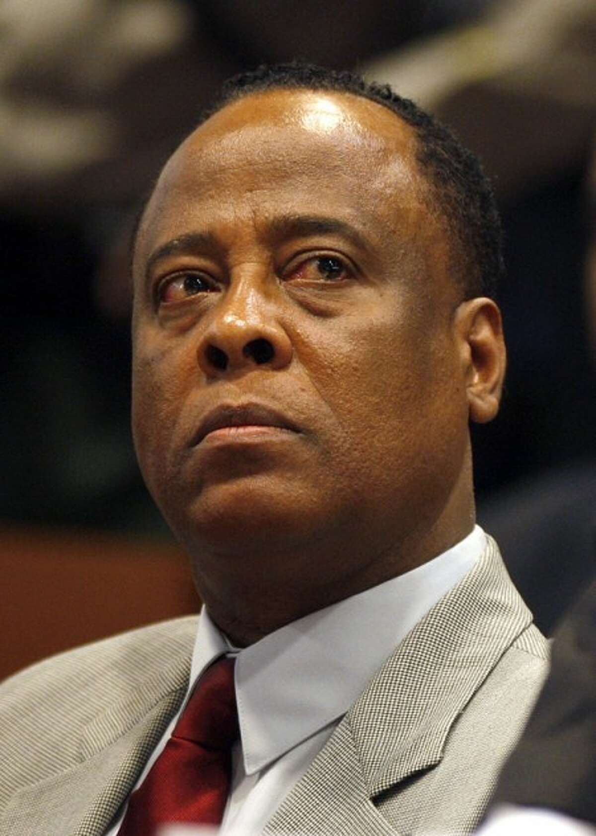 Conrad Murray, Michael Jackson''s doctor, looks on during his arraignment at the Airport Courthouse on charges of involuntary manslaughter in the singer''s death in Los Angeles on Monday, Feb. 8, 2010. (AP Photo/Mark Boster, Pool)