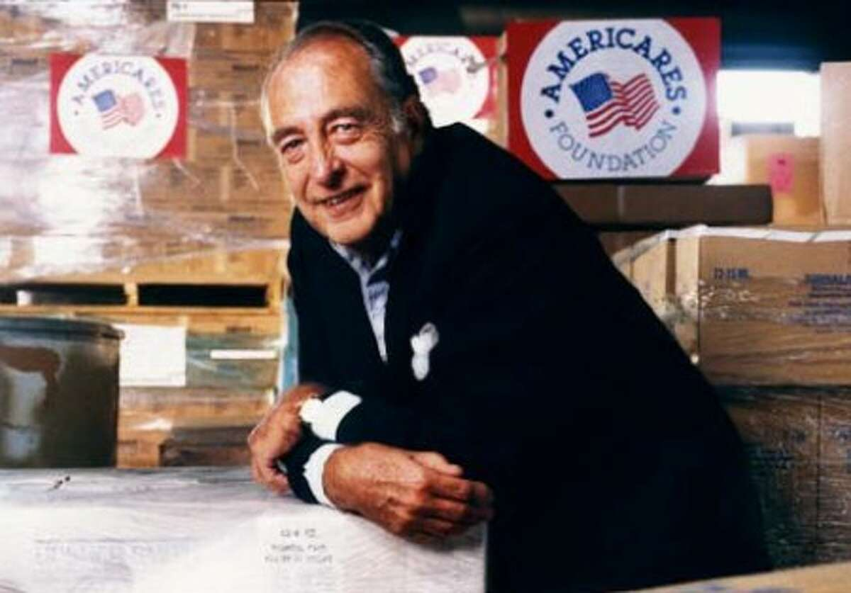 AmeriCares founder Robert C. Macauley, who died Sunday morning in his Florida home. Photo courtesy of AmeriCares.