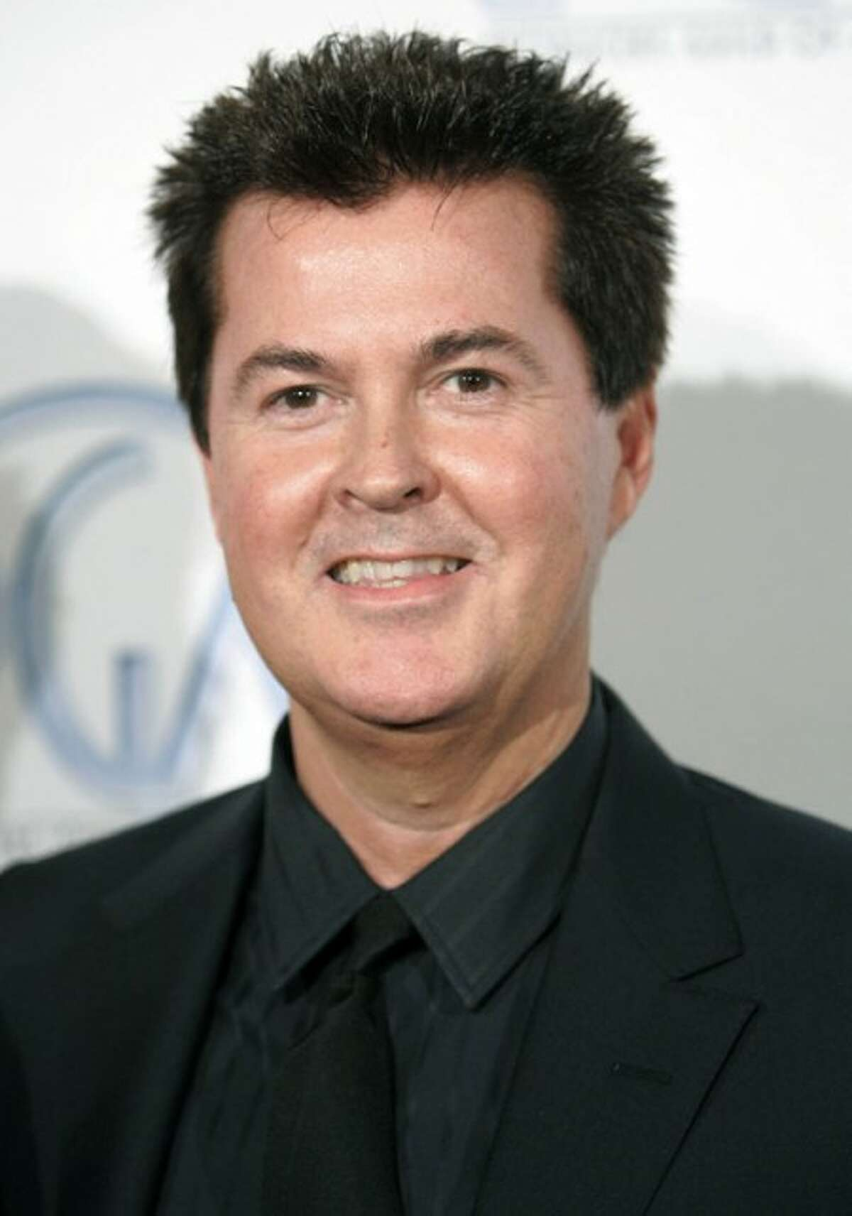 FILE - In this Feb. 2, 2008 file photo, producer Simon Fuller arrives at the 2008 Producers Guild Awards where Fuller received the Visionary Award in Beverly Hills, Calif. (AP Photo/Danny Moloshok, file)