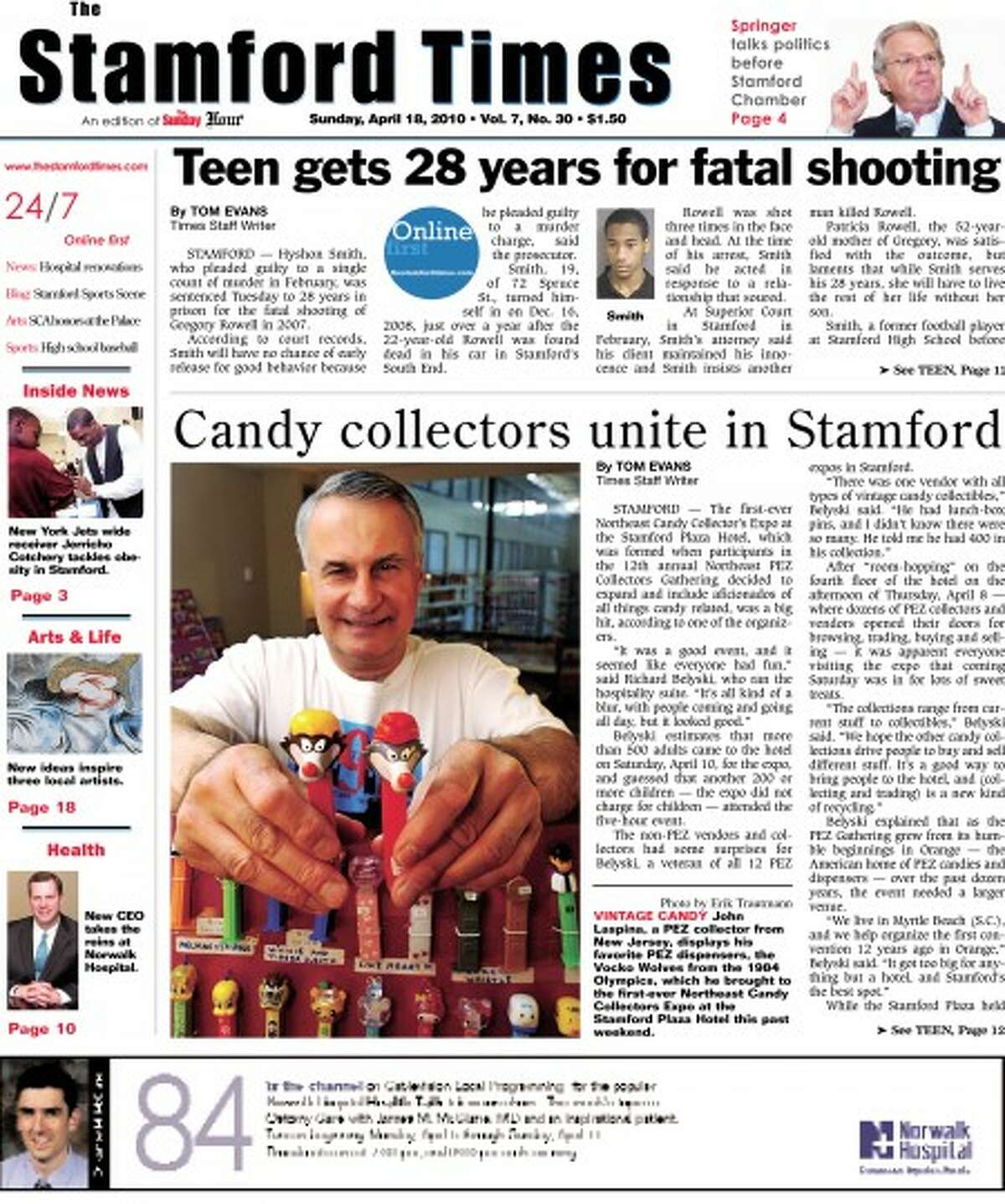 Introducing the new look of The Stamford Times
