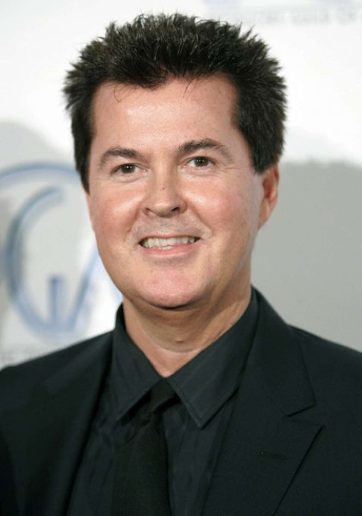 Producer Simon Fuller arrives at the 2008 Producers Guild Awards where Fuller received the Visionary Award in Beverly Hills, Calif. (AP Photo/Danny Moloshok, file)