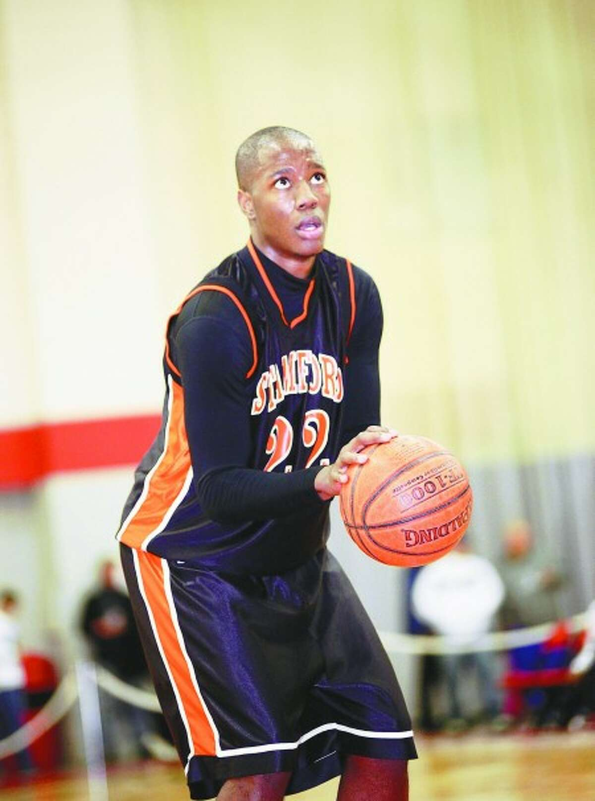 Stamford High boys basketball standout Mark Ellis. Times photo/Danielle Robinson