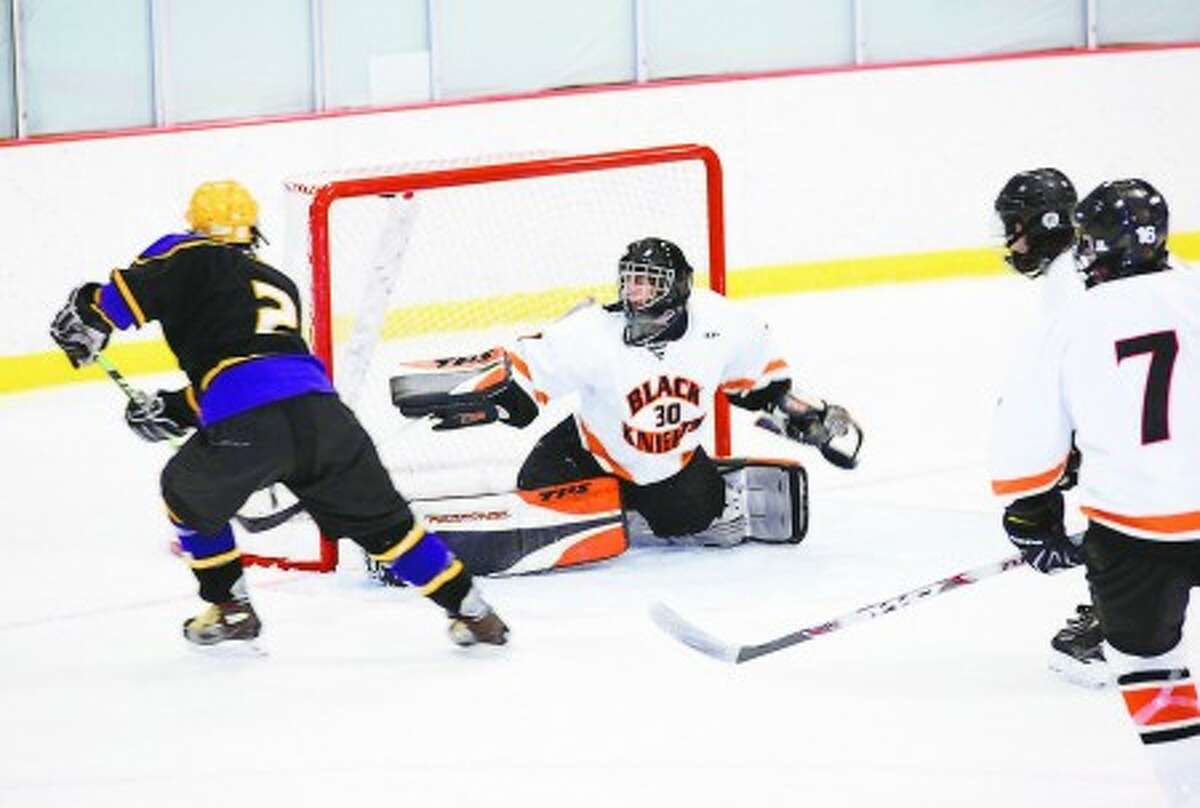 Westhill hockey standout Tyler Rich (2) received a Hobey Baker Character Award. Times photo/Danielle Robinson