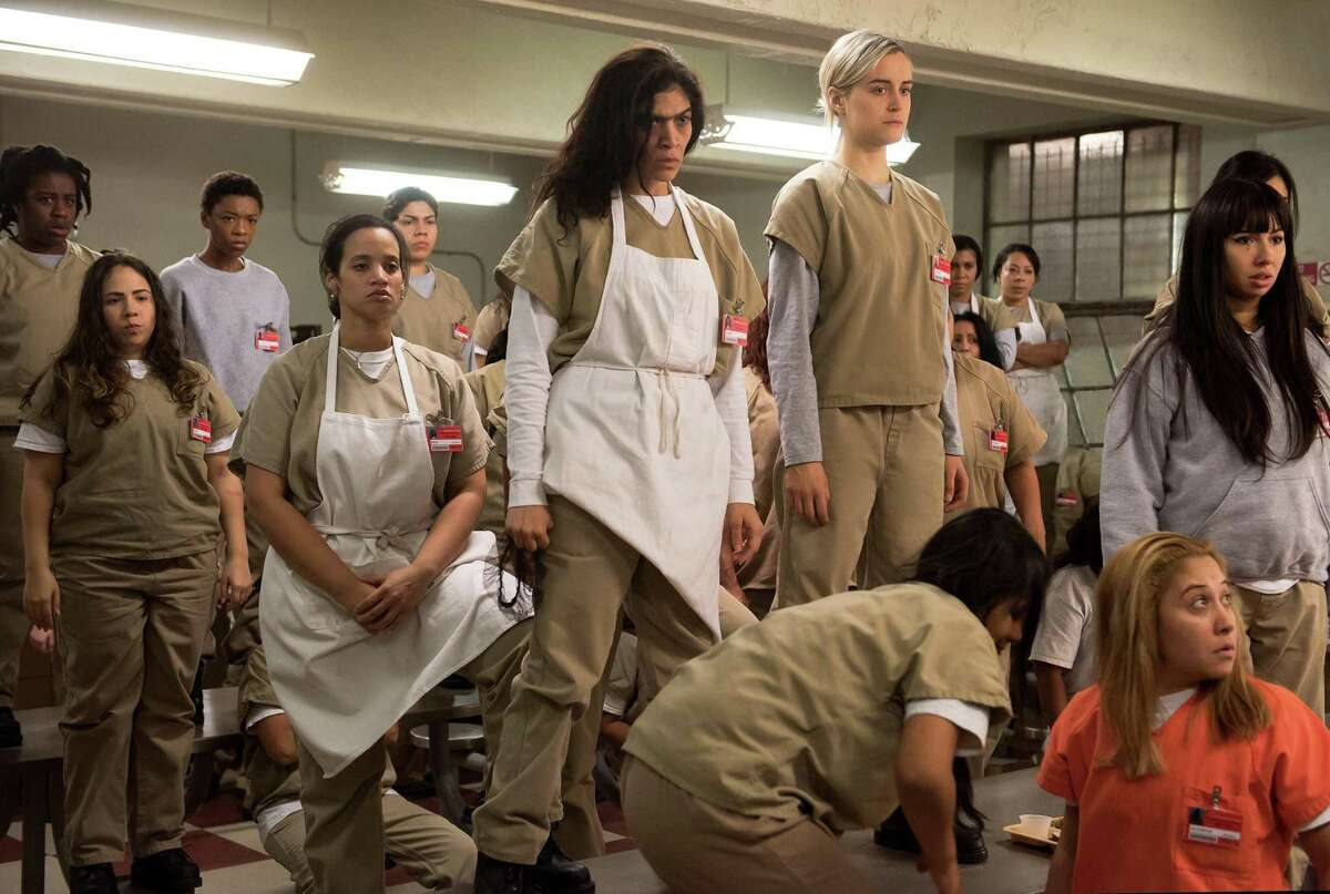 Orange Is the New Black, season 6Available on Netflix July 27In the wake of the riot, the women are taken to maximum security prison and face serious charges. Photo Credits: JoJo Whilden/Netflix