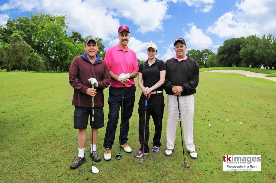 Berkshire Hathaway HomeServices Anderson Properties' golf team Photo: JACKIEMONSTR / JACKIEMONSTR