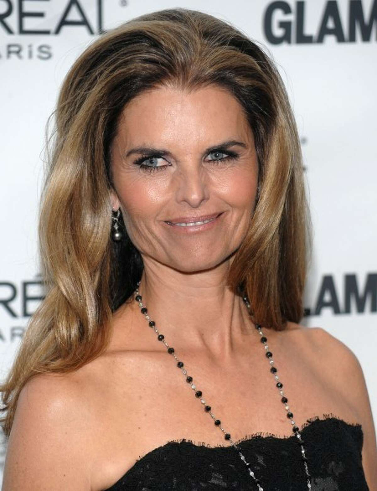 Maria Shriver attends the Glamour Magazine 2009 Women of the Year Awards at Carnegie Hall in New York. (AP Photo/Evan Agostini)
