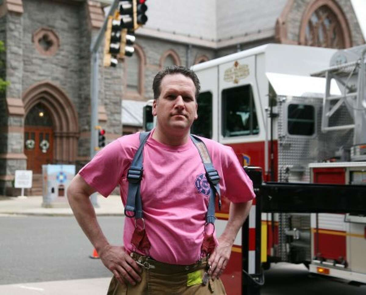 Stamford Fire & Rescue goes 'pink' for breast cancer