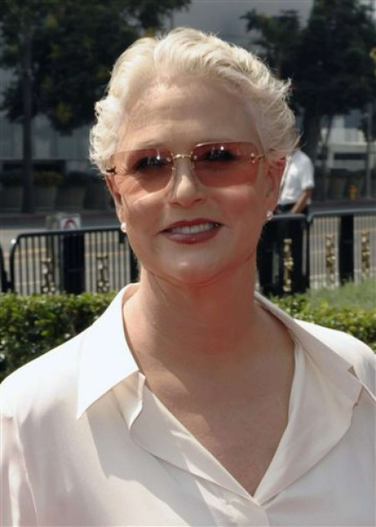 """Sharon Gless was nominated for an Emmy for supporting actress in a drama series on Thursday, July 8, 2010 for her role in """"Burn Notice."""" (AP Photo/Chris Pizzello, file)"""
