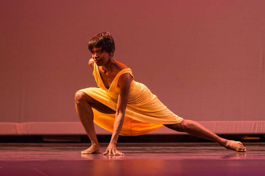 Dancer Mindy Harwood of Grown Women Dance Collective. Photo: Alexander Reneff-Olson, Courtesy Grown Women Dance Collective
