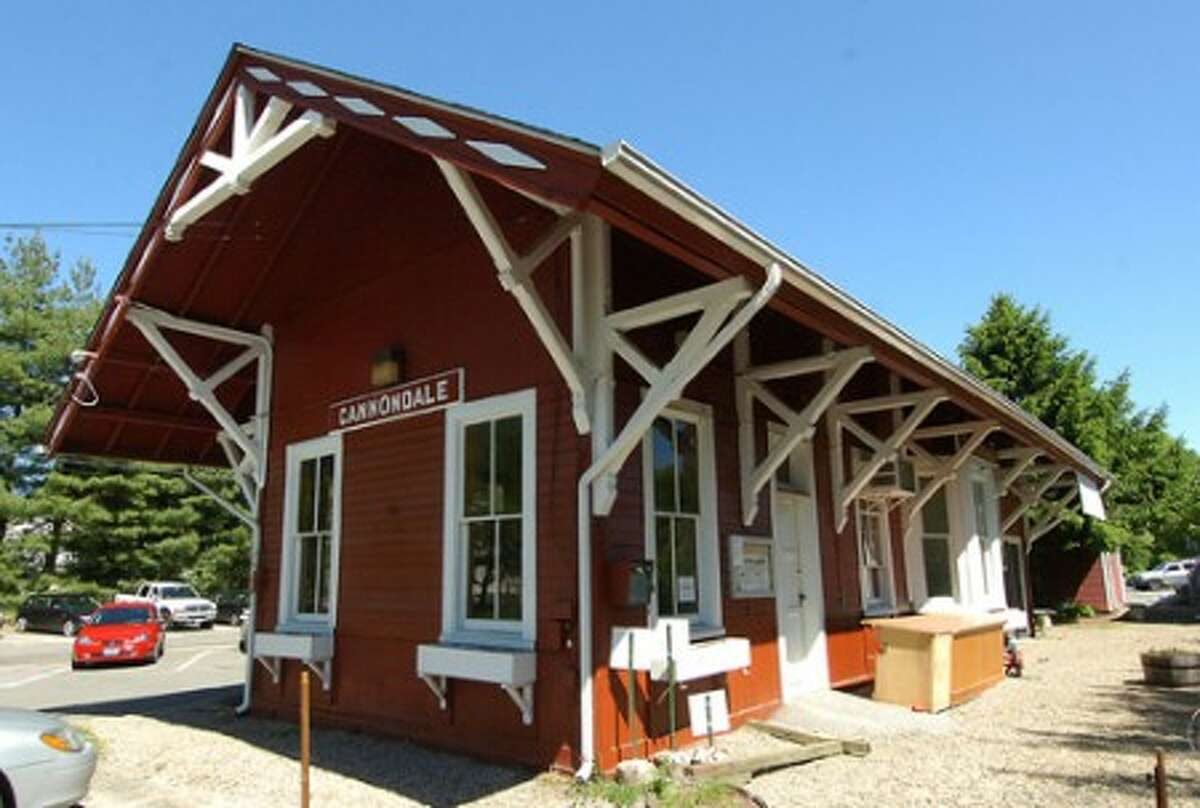 Photo/Alex von Kleydorff. The Cannondale Train Station where Cafe Au Lait was located is now closed.