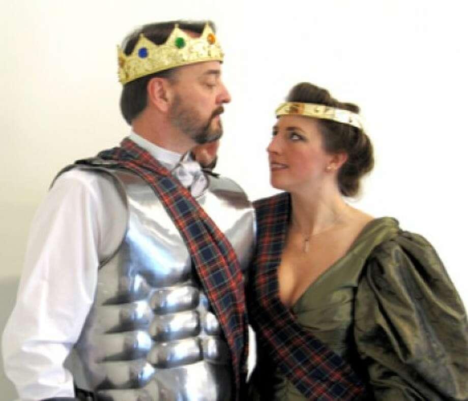 J. Kevin Smith of Norwalk stars as Macbeth and Kari Ann Sweeney of Stamford as Lady Macbeth in Curtain Call