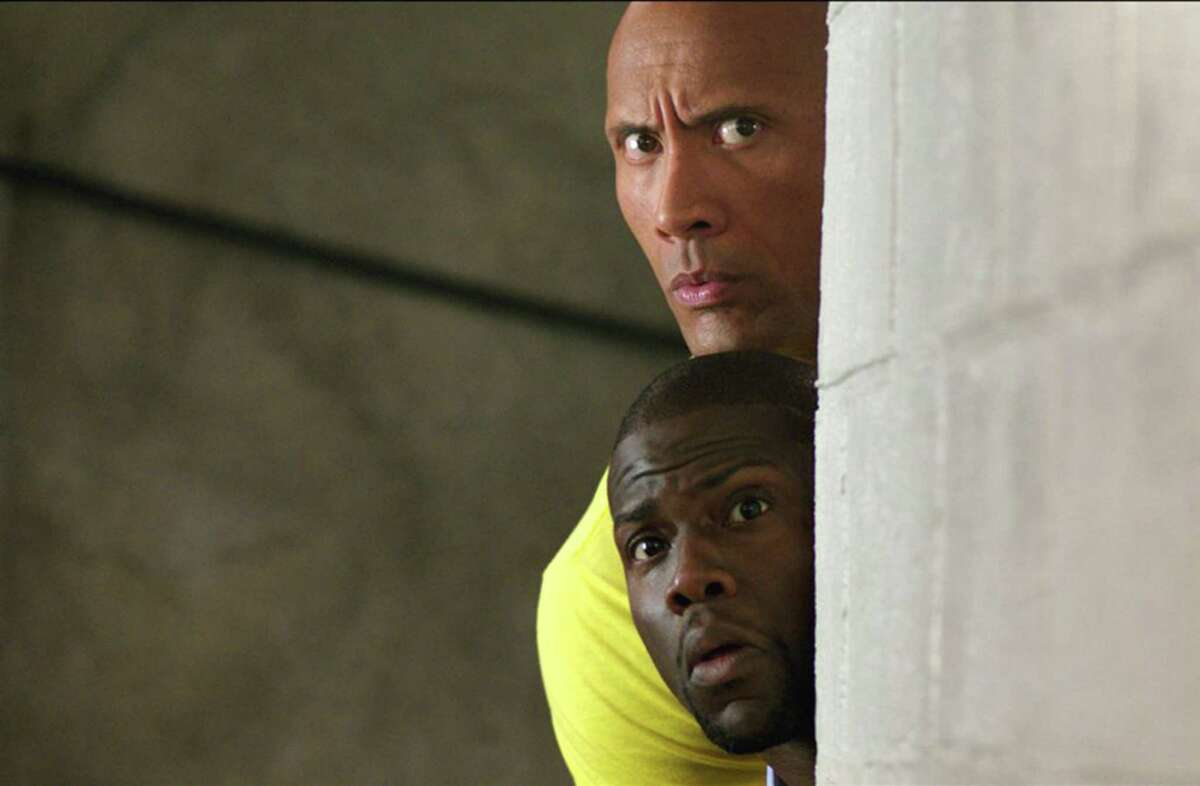 """Kevin Hart and Dwayne Johnson in """"Central Intelligence."""" (Warner Bros. Entertainment Inc.)"""