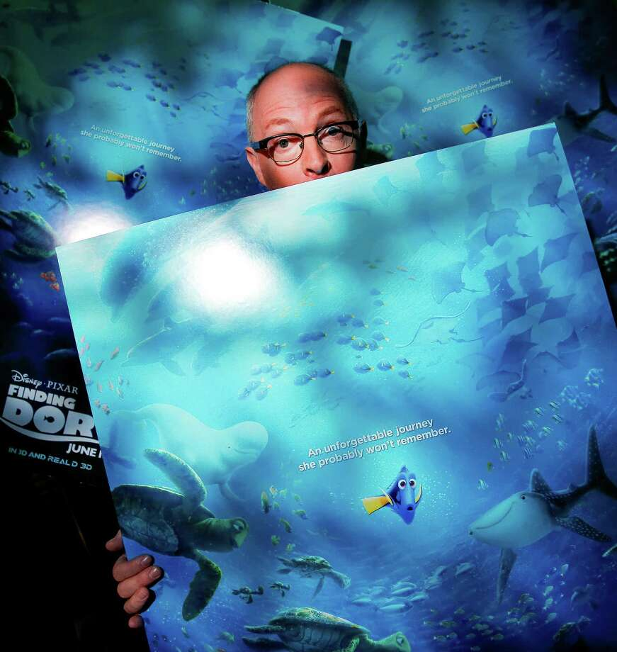 Pixar supervising animator Michael Stocker created the visual world for the new Finding Dory movie Wednesday, June 15, 2016 in Houston. ( Michael Ciaglo / Houston Chronicle ) Photo: Michael Ciaglo, Staff / © 2016  Houston Chronicle