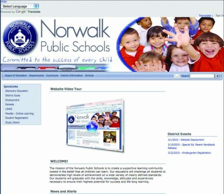 Norwalk schools unveil new Web site