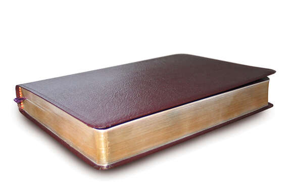 Isolated Bible - Clipping Path Included.