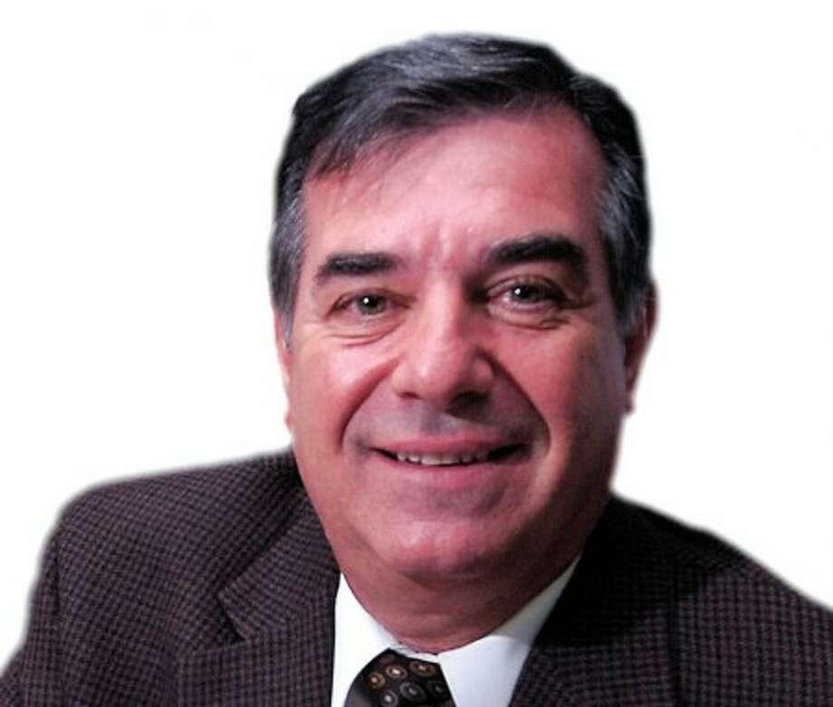 Photo/Alex von Kleydorff. Michael Pavia in his Stamford Pavia Development LLC office.