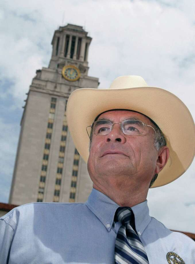 "Former Austin Police Officer and Texas Ranger Ramiro ""Ray"" Martinez was one of the officers who stopped sniper Charles Whitman on the tower's observation deck on Aug. 1, 1966. Photo: Jack Plunkett /MCT / Fort Worth Star-Telegram"