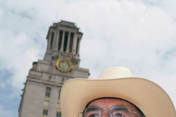 """Former Austin Police Officer and Texas Ranger Ramiro """"Ray"""" Martinez was one of the officers who stopped sniper Charles Whitman on the tower's observation deck on Aug. 1, 1966."""
