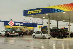 The Sunoco/Stripes at Gessner Drive and Philippine Street.  (For the Chronicle/Gary Fountain, May 19, 2016)
