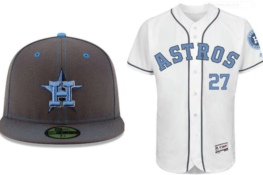 553cd89b0a5 The Astros will wear this special Father s Day cap and uniform Sunday  against Cincinnati at Minute