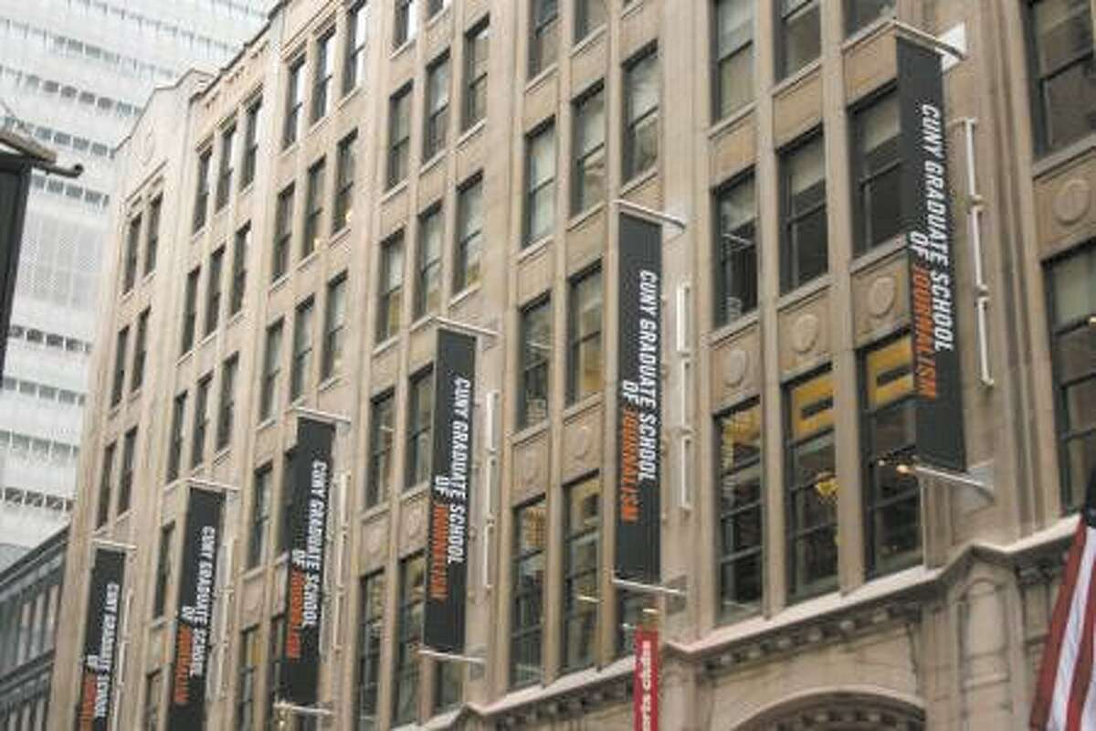 The CUNY Graduate School of Journalism. Contributed photo.