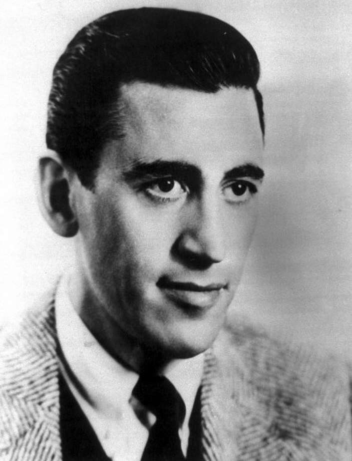 """FILE - In this 1951 file photo, J.D. Salinger, author of """"The Catcher in the Rye"""", """"Nine Stories"""", and """"Franny and Zooey"""" is shown. (AP Photo, file)"""