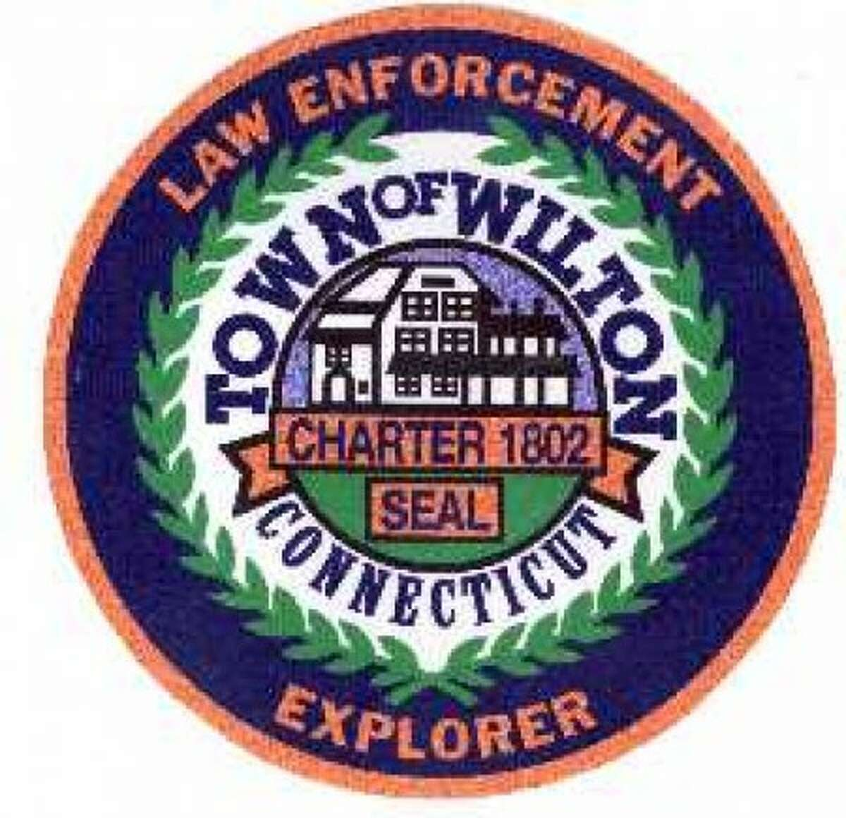 Wilton Police Explorer Badge