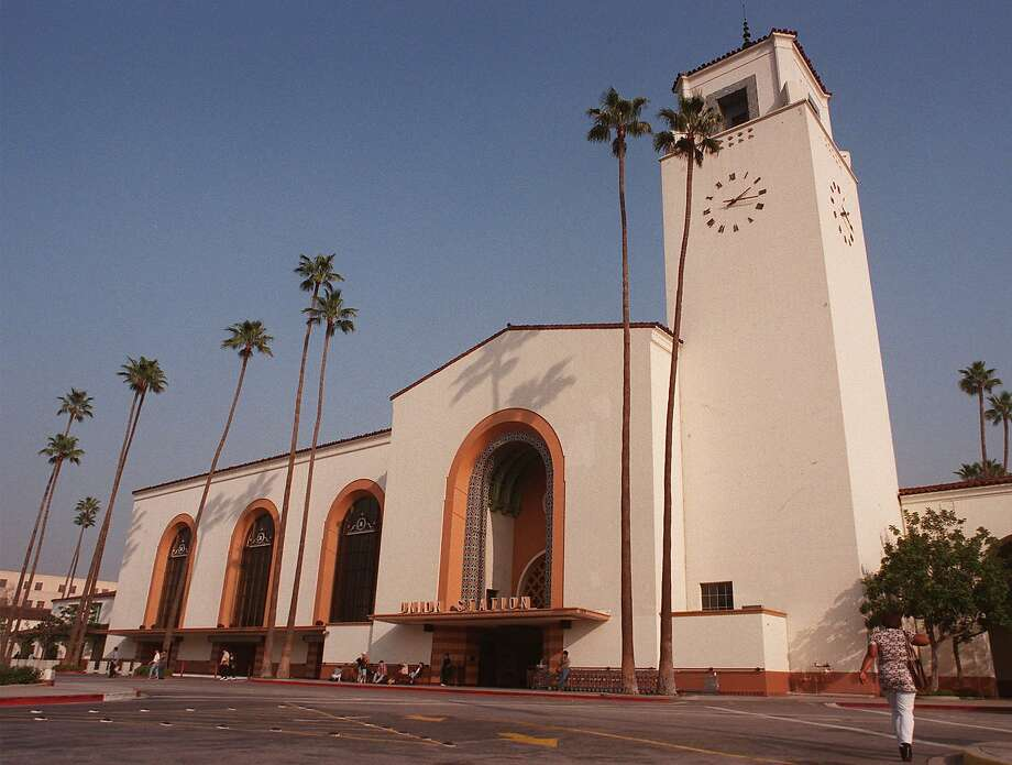 The Mission-style Union Station as it looked in 1998. Photo: EJ FLYNN, Associated Press